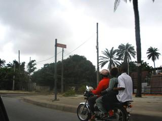 Lagos, okada (commercial motorbike)