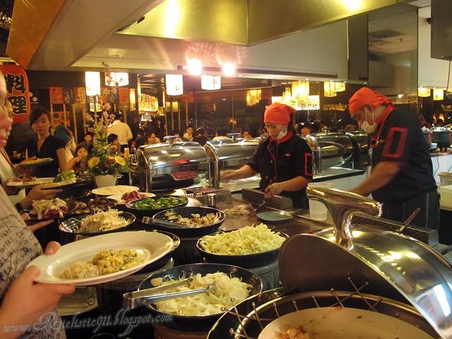 Shogun Japanese Buffet SOHO KL