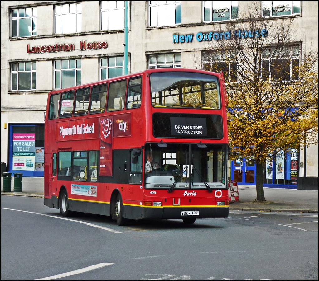 Plymouth Citybus 429 Y827TGH