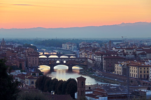 Florence - View from Piazza Michelangelo by feradz