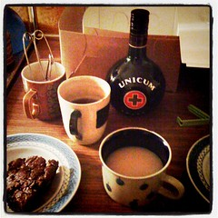 Russian Caravan Tea with Unicum