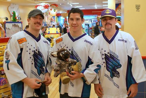 Rochester Knighthawks - Gift-A-Bear 08