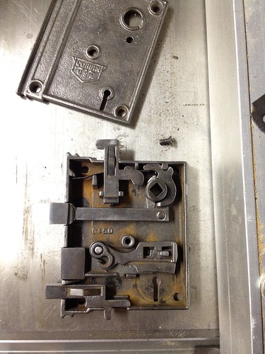 The Anatomy And Restoration Of A Rim Lock Old Town Home