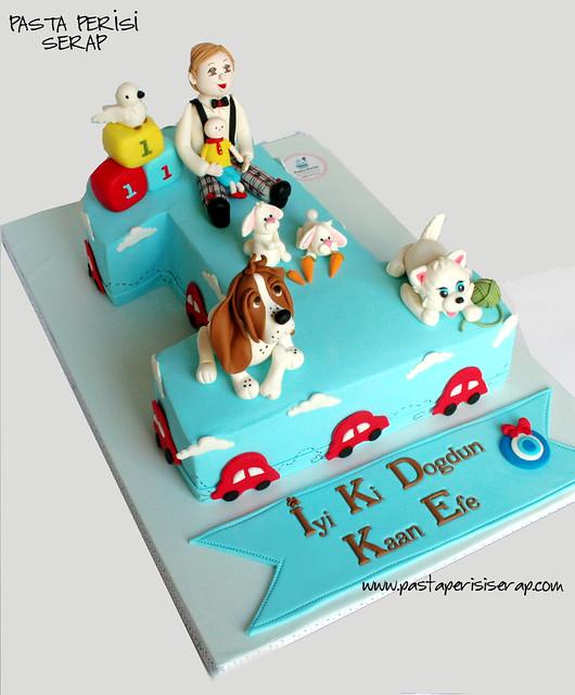 KAAN EFE 1ST BIRTHDAY CAKE