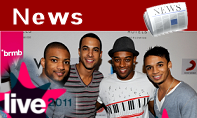 NEWS: JLS complete stellar line up for BRMB Live 2011