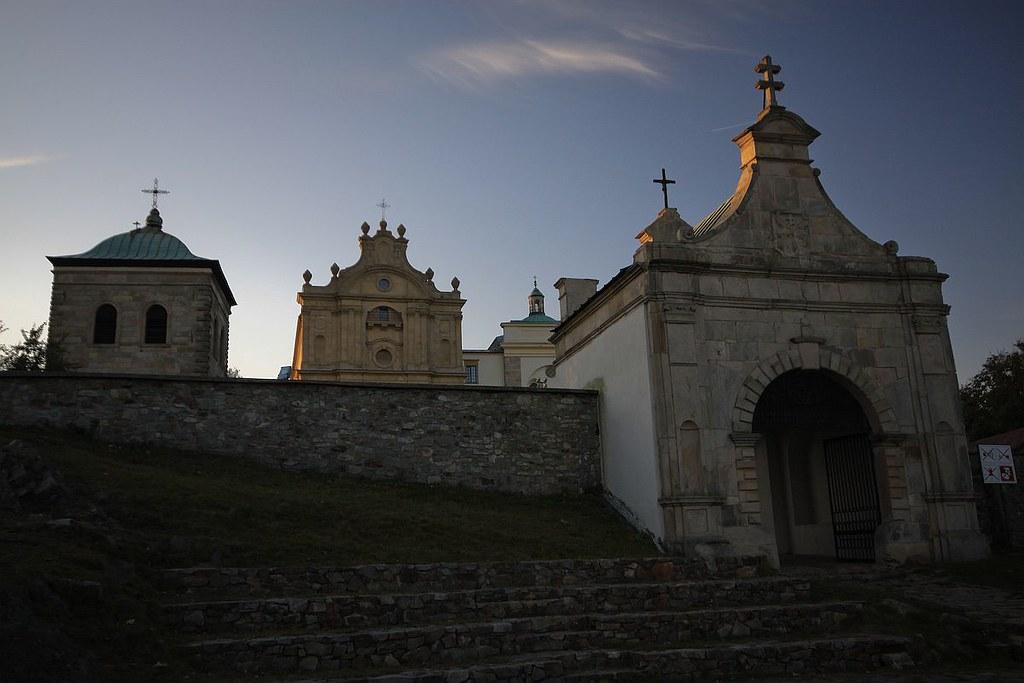 Klasztor Na Świętym Krzyżu / Święty Krzyż, former Benedictine monastery
