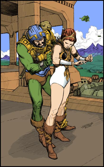 Desenhos Nerds - #25 - Especial He-Man ilustração