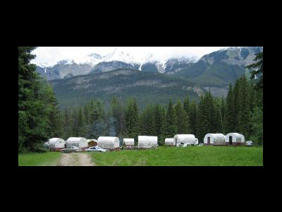 Beaverfoot Ranch (Golden, Colombie-Britannique, Canada)