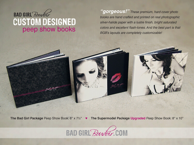 Custom Designed Boudoir Photography Photobooks