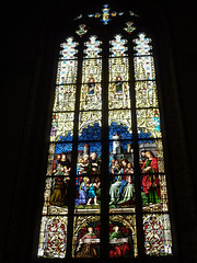 Genève : vitraux de la Cathédrale Saint-Pierre