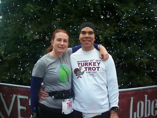 2011 Tulsa Black Friday Turkey Trot, taken by an unknown person who messaged it to me, thanks!