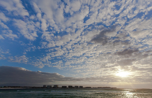 blue sky water clouds sunrise canon florida destin 5dii