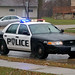 Small photo of Santa's Roselle Police Escort