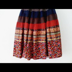 Print print print skirt from ukay ukay.