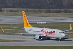 Pegasus Airlines Boeing 737-800; TC-AMP@ZRH;21.03.2012/646be
