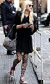 Fearne Cotton Patterned Tights Celebrity Style Woman's Fashion