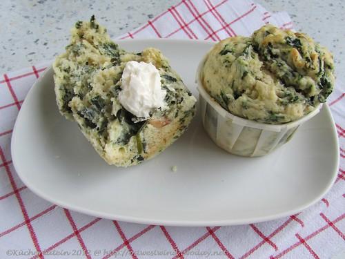 Spinat-Ricotta-Muffins mit Pinienkernen 001