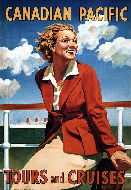 Canadian Pacific Tours and Cruises. 1936