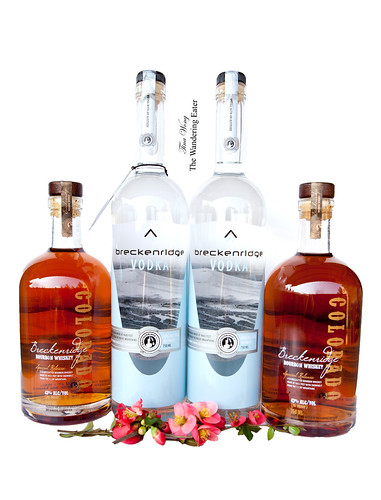 Breckenridge Distillery Small Batch Bourbon Whiskey & Vodka
