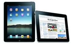Two Apple iPads