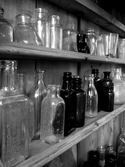 bottle, monochrome photography, monochrome, black-and-white, black,