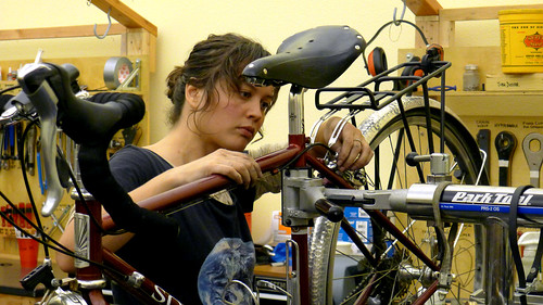 Women's Basic Bicycle Maintenance, Oct 2011