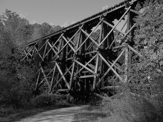 Wood Trestle at Jenkinjones WV
