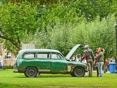 Skoda 1200, 1953, Amsterdam, Douwes Dekkerstraat, 09-2010