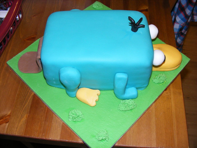 Perry The Platypus Cake | Flickr - Photo Sharing!
