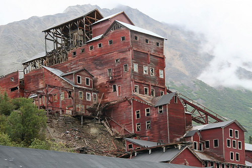 The Kennecott Mill Building with Wild Alpine Guides