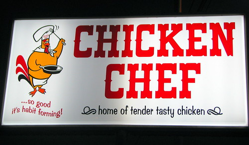 Chicken Chef sign - McMinnville, TN