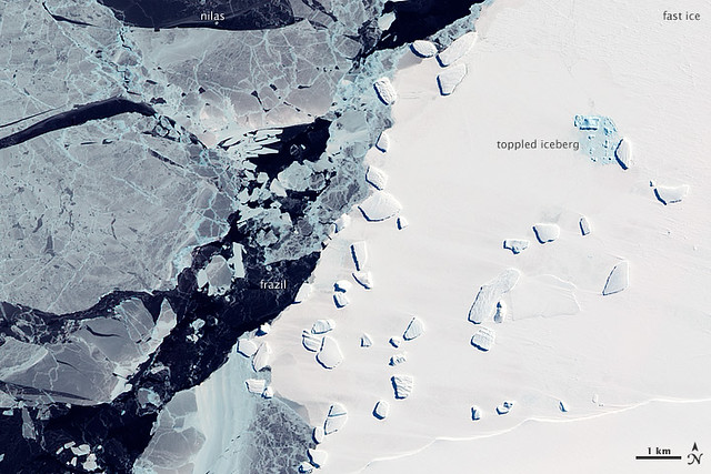 Sea Ice and Icebergs off East Antarctica | Flickr - Photo ...