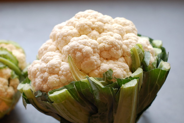 Cauliflower by Eve Fox, Garden of Eating blog, copyright 2011
