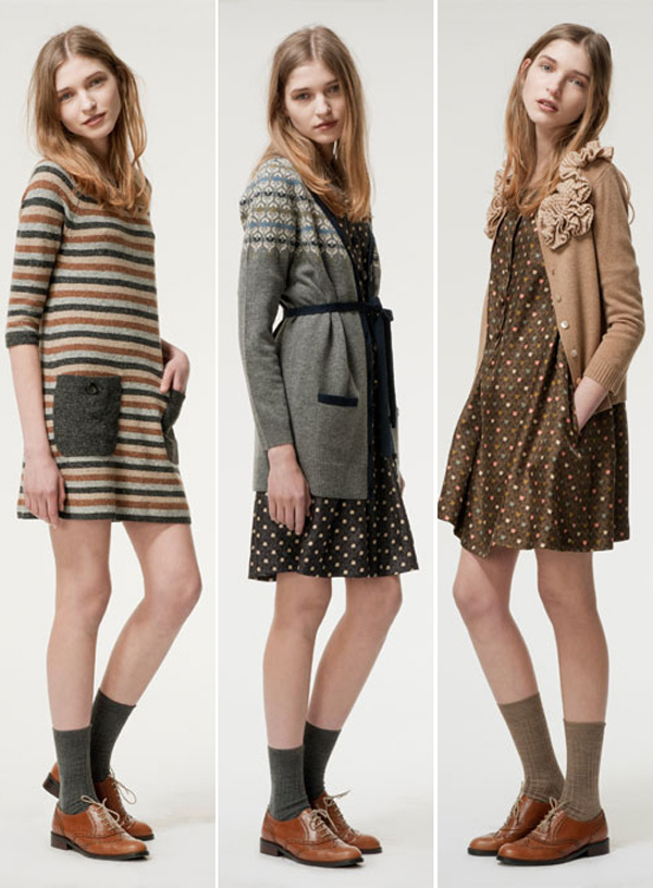 Olive and Orange, Autumn & Winter 2011 | Emma Lamb
