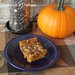 Pumpkin Dulce de Leche Swirl Brownies with Chocolate Chips