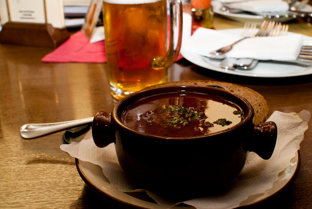 Goulash, traditional food from Hungary