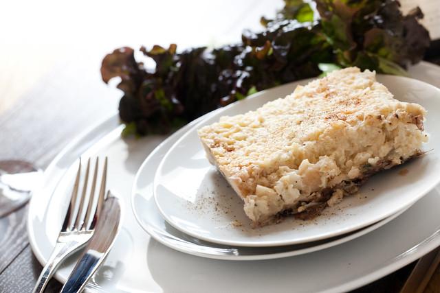 Gratin c leri poires et queue de boeuf la petite souris blog cuisine - Comment cuisiner la poire de boeuf ...