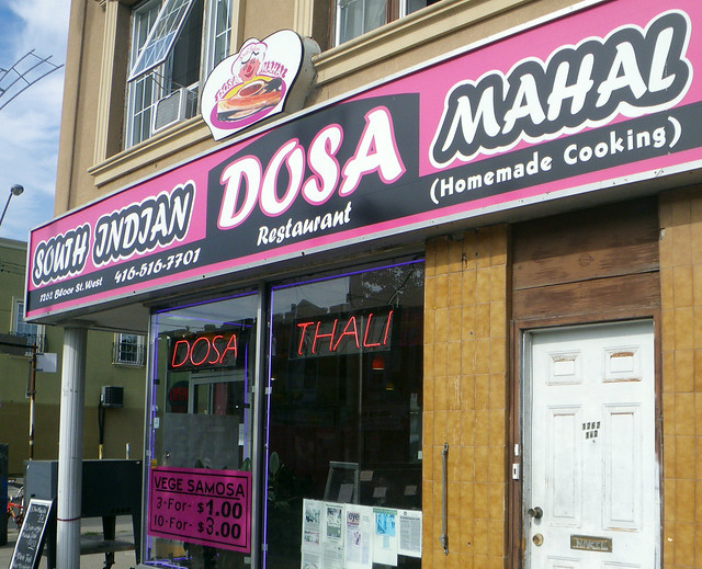 South Indian Dosa Mahal in Toronto
