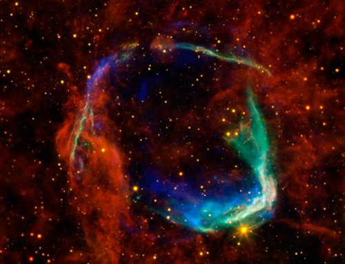 Oldest Recorded Supernova (NASA, Chandra, Spitzer, 10/26/11)