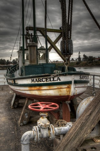 Marcella in Santa Cruz (HDR)