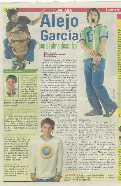 Periódico Nuestro Diario Cartagena Mayo 2007