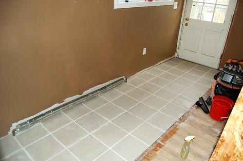 Foyer Tile Job : Enter tile man brady carlson