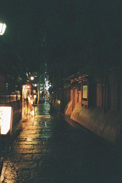 京都 白川通 巷