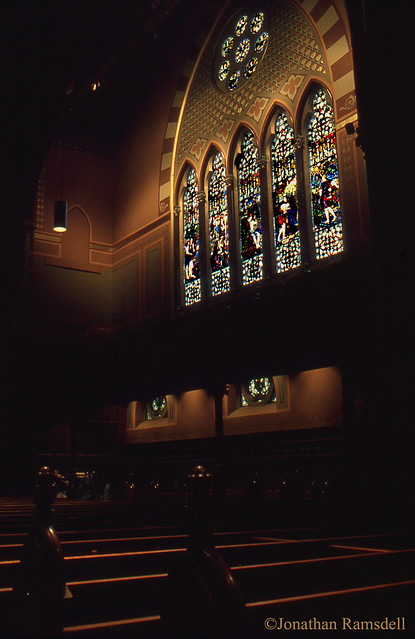 East Wall Window, Old South Church in Boston