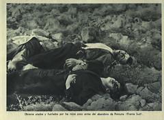 """¡¡""""Obreros atados y fusilados por los rojos … de Porcuna"""", de fotografía de propaganda a testimonio gráfico de la represión marxista setenta años después!!."""