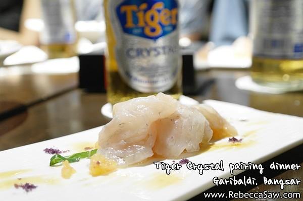 Tiger Crystal pairing dinner - Garibaldi Bangsar-2