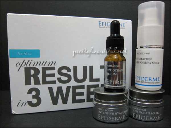 Epiderm Trial Kit for Moist