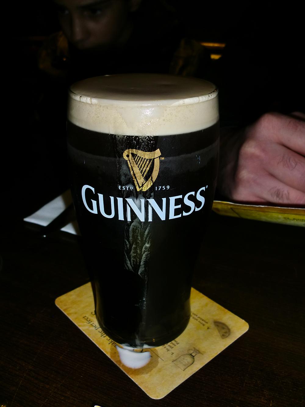 Guinness - Dublin, Ireland.