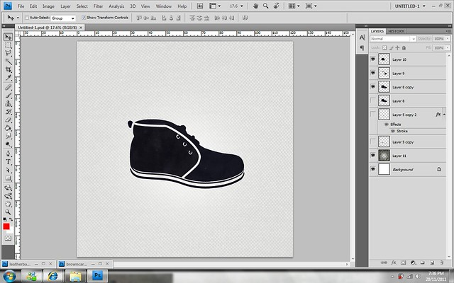Shoes - photoshop