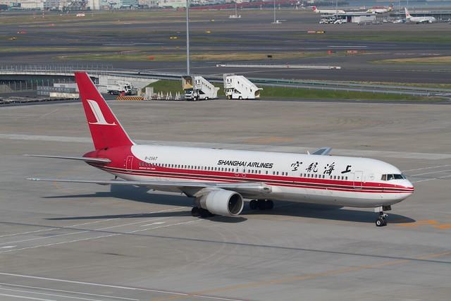 Shang hai Airlines B767-300